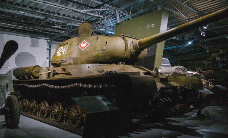 IS-2 tank in MBP in Poznan