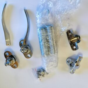Chromed accessories for Mercedes-Benz W113 Pagoda 230SL, 250SL, 280SL soft top