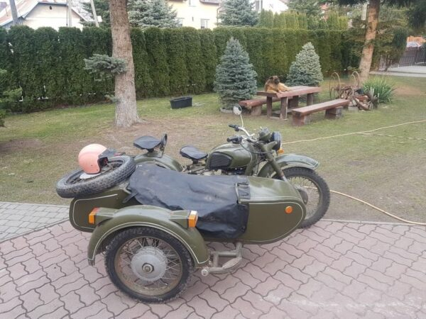Russian Military Motorcycle Dnepr MT-11