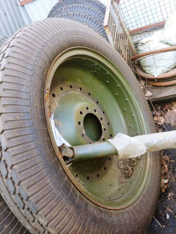 Wheels for Russian WW2 M1937 ML-20 howitzer
