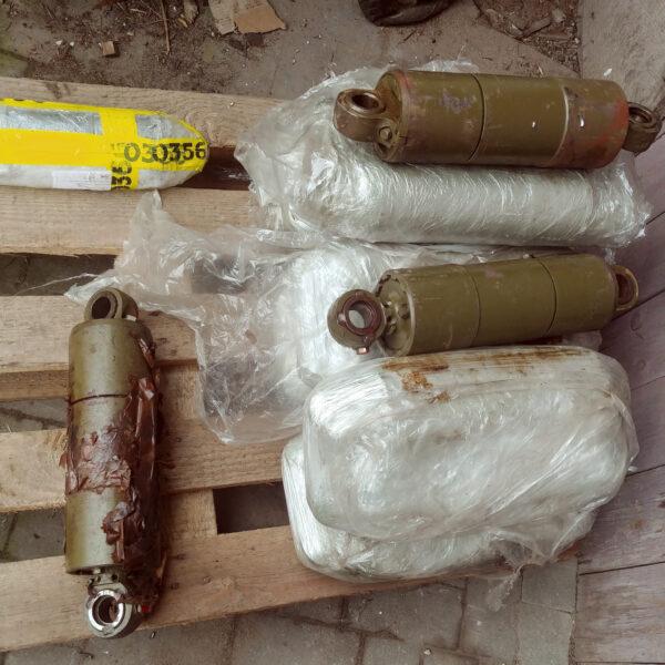 BMP-1 shock absorbers