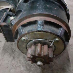 Starter motor for PT-76 tank