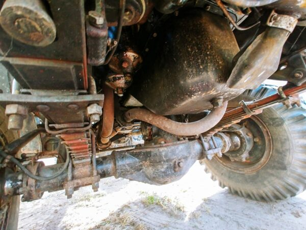 Front axle of Ural 4320